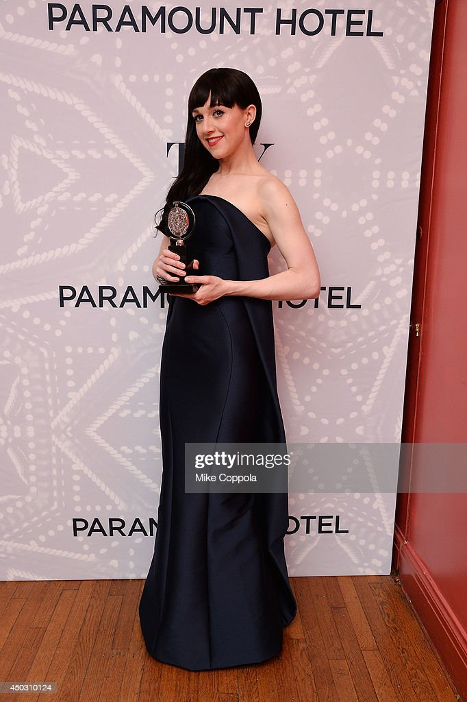 <a gi-track='captionPersonalityLinkClicked' href=/galleries/search?phrase=Lena+Hall&family=editorial&specificpeople=9446196 ng-click='$event.stopPropagation()'>Lena Hall</a>, winner of the award for Best Performance by an Actress in a Featured Role in a Musical for 'Hedwig and the Angry Inch', poses in the Paramount Hotel Winners' Room at the 68th Annual Tony Awards on June 8, 2014 in New York City.