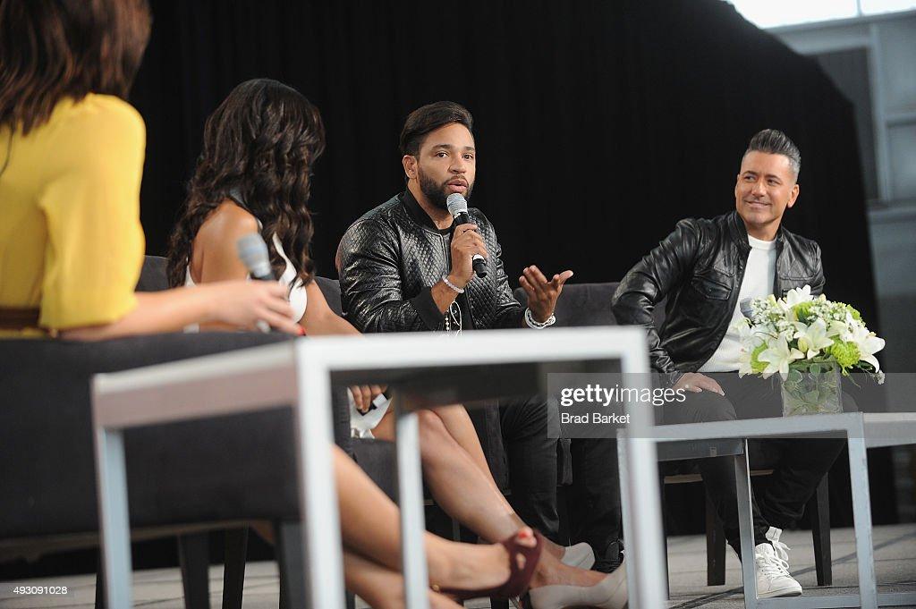 Lena Hansen Senior Writer at People en Español Magazine speaks with Dominican TV personality Francisca Lachapel Dominican musician Henry Santos and...