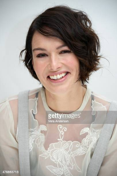 Lena Headey at the '300 Rise Of An Empire' Press Conference at the Four Seasons Hotel on March 4 2014 in Beverly Hills California