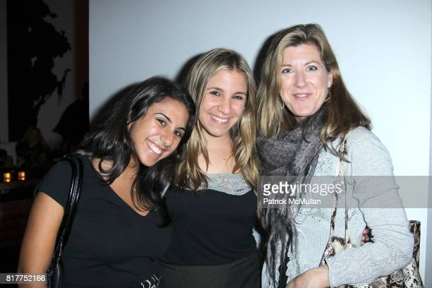 Lena Herdoon Lisa Hagendorf and Kate Berg attend ELLE celebrates 25 years and the launch of ELLEments of Personal Style at Moma on October 26 2010 in...