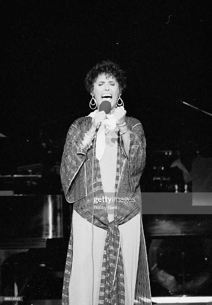 Lena Horne performs at the PNC (formerly the Garden State Arts center) on August 29. 1979 in Holmdel, New Jersey.