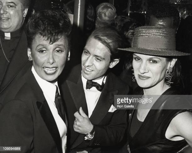 Lena Horne Raphael LopezSanchez and Paloma Picasso