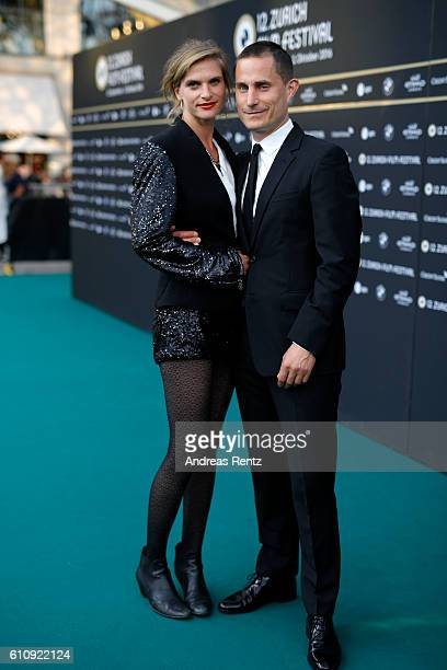 Lena Lauzemis and Clemens Schick attend the 'Stille Reserven' Photocall during the 12th Zurich Film Festival on September 28 2016 in Zurich...