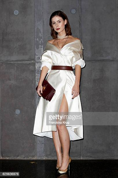 Lena Meyer Landrut attends the mytheresacom JW Anderson dinner at Berliner Lapidarium on November 24 2016 in Berlin Germany