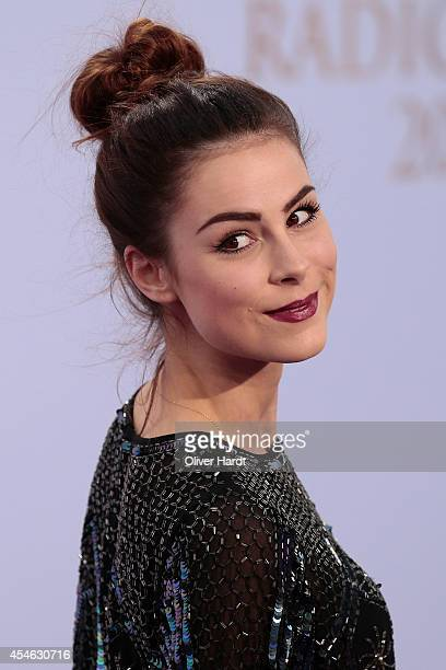 Lena Meyer Landrut poses before the 'Deutscher Radiopreis 2014' on September 4 2014 in Hamburg Germany