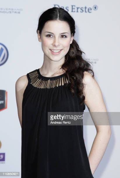 Lena MeyerLandrut arrives for the Echo award 2011 at Palais am Funkturm on March 24 2011 in Berlin Germany