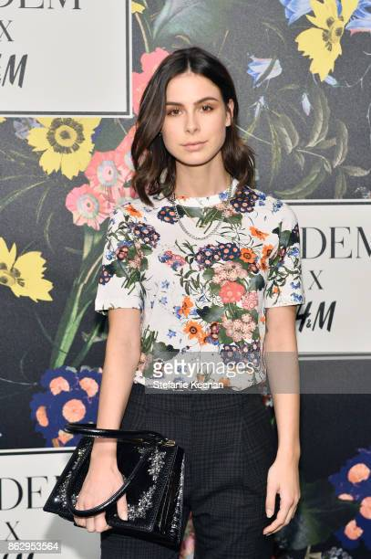 Lena MeyerLandrut at HM x ERDEM Runway Show Party at The Ebell Club of Los Angeles on October 18 2017 in Los Angeles California