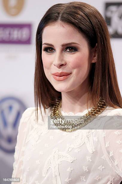 Lena MeyerLandrut attends at the Echo Award 2013 at Palais am Funkturm on March 21 2013 in Berlin Germany
