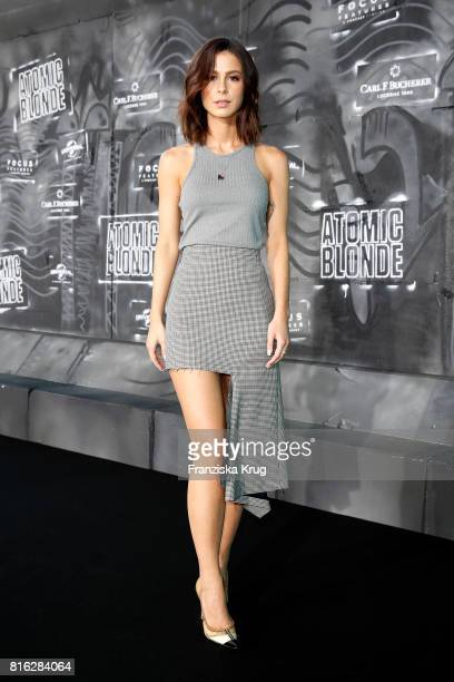 Lena MeyerLandrut attends the 'Atomic Blonde' World Premiere at Stage Theater on July 17 2017 in Berlin Germany
