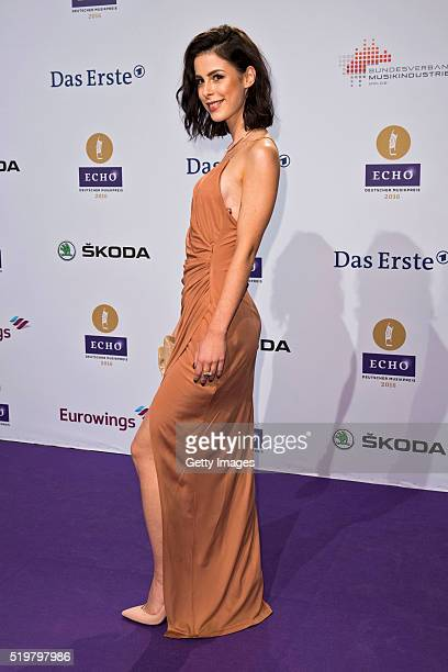 Lena MeyerLandrut attends the Echo Award 2016 on April 7 2016 in Berlin Germany