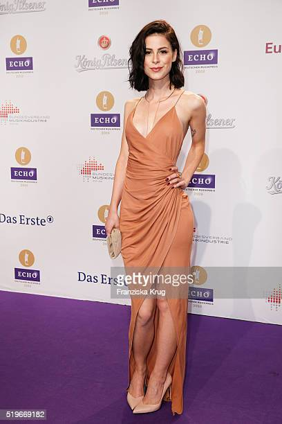 Lena MeyerLandrut attends the Koenig Pilsener At Echo Award 2016 on April 07 2016 in Berlin Germany