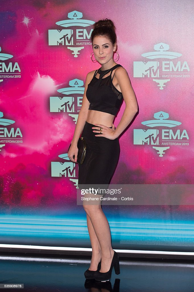 Lena Meyer-Landrut attends the MTV EMA's 2013 at the Ziggo Dome in Amsterdam, Netherlands.