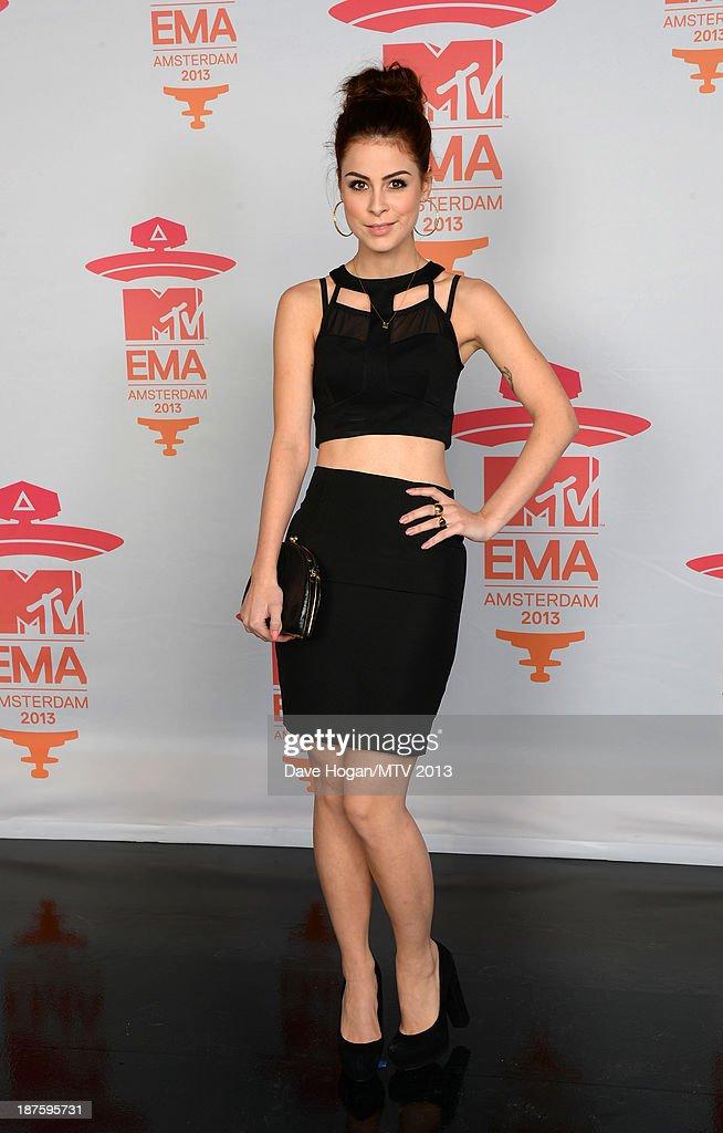 Lena Meyer-Landrut attends the MTV EMA's 2013 at the Ziggo Dome on November 10, 2013 in Amsterdam, Netherlands.