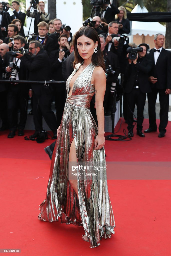 Lena Meyer-Landrut attends the 'The Beguiled' screening during the 70th annual Cannes Film Festival at Palais des Festivals on May 24, 2017 in Cannes, France.