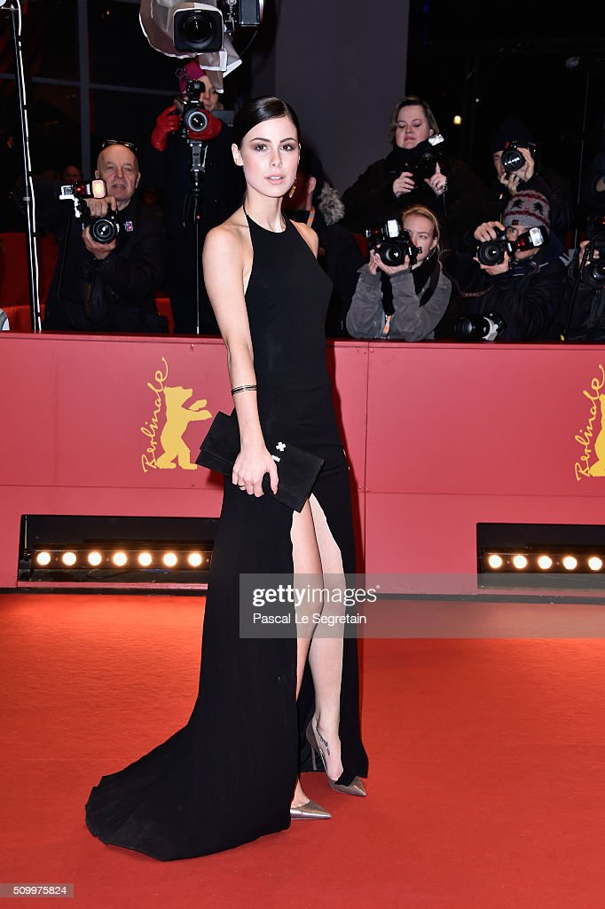 <a gi-track='captionPersonalityLinkClicked' href=/galleries/search?phrase=Lena+Meyer-Landrut+-+Duits+zangeres&family=editorial&specificpeople=6837968 ng-click='$event.stopPropagation()'>Lena Meyer-Landrut</a> attends the 'Things to Come' (L'avenir) premiere during the 66th Berlinale International Film Festival Berlin at Berlinale Palace on February 13, 2016 in Berlin, Germany.