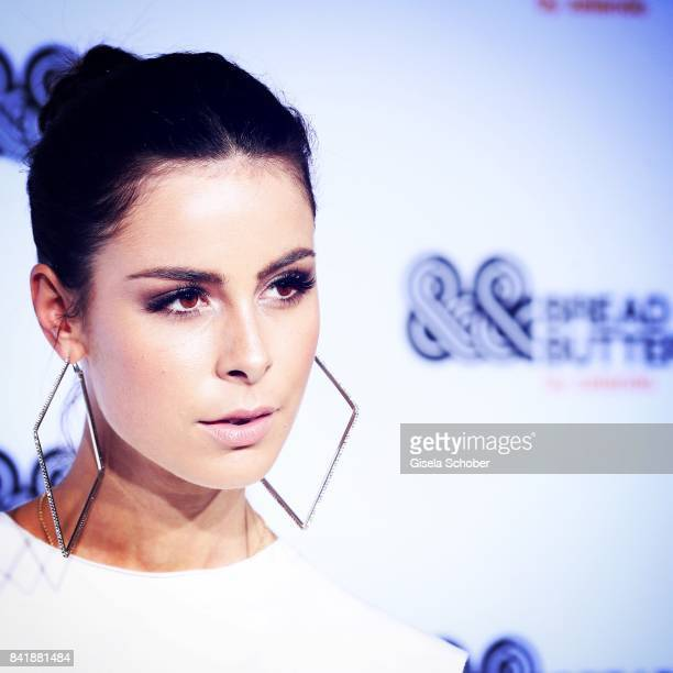 Lena MeyerLandrut attends the Zalando A/W 17 women fashion show during the Bread Butter by Zalando at BB Stage arena Berlin on September 1 2017 in...
