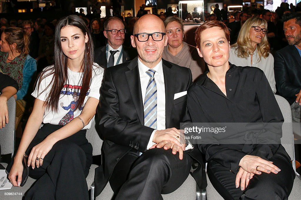<a gi-track='captionPersonalityLinkClicked' href=/galleries/search?phrase=Lena+Meyer-Landrut+-+German+Singer&family=editorial&specificpeople=6837968 ng-click='$event.stopPropagation()'>Lena Meyer-Landrut</a>, Klaus Dittrich ah his wife Margit Dittrich attend the Inhorgenta Opening Show & Party on February 12, 2016 in Munich, Germany.