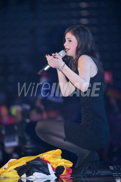 Lena Meyer Landrut Of Germany Wins The Eurovision 2010 With The Song Wireimage 101270338