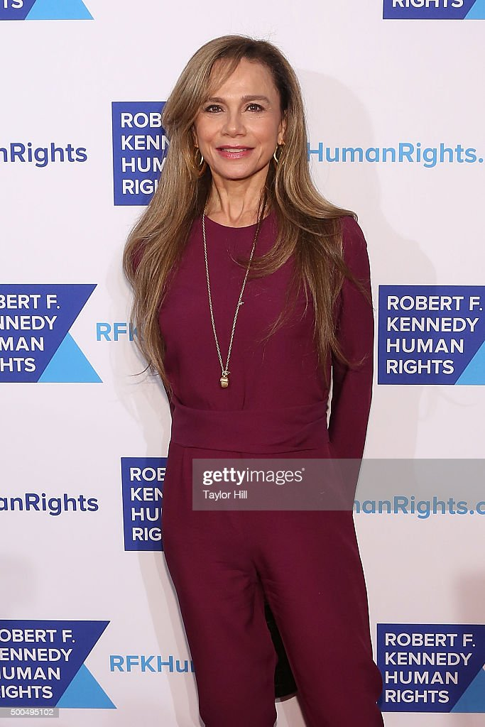 Lena Olin attends the Robert F. Kennedy Human Rights 2015 Ripple Of Hope Awards at New York Hilton Midtown on December 8, 2015 in New York City.