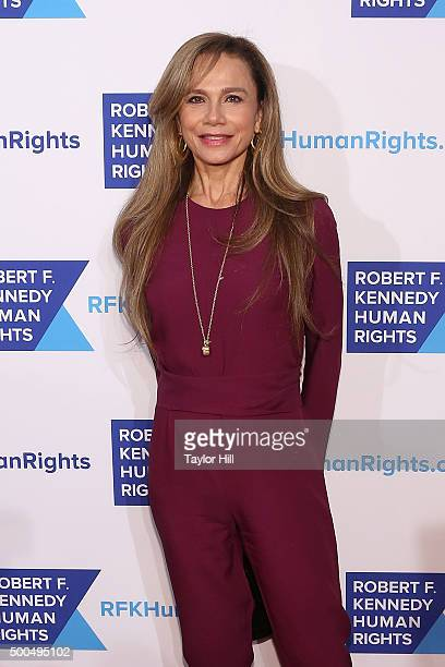 Lena Olin attends the Robert F Kennedy Human Rights 2015 Ripple Of Hope Awards at New York Hilton Midtown on December 8 2015 in New York City