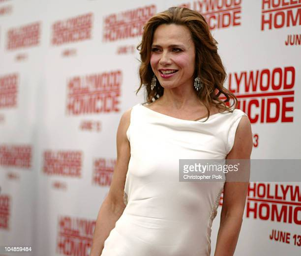 Lena Olin during The World Premiere Of 'Hollywood Homicide' at Mann Village Theatre in Westwood California United States