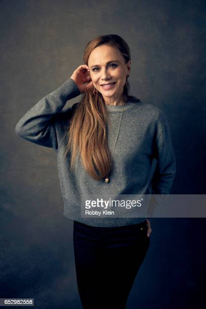 Lena Olin of 'A Critically Endangered Species' poses for a portrait at The Wrap and Getty Images SxSW Portrait Studio on March 11 2017 in Austin Texas