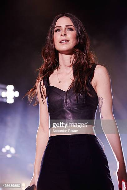 Lena performs at Heimathafen Neukoelln on October 21 2015 in Berlin Germany