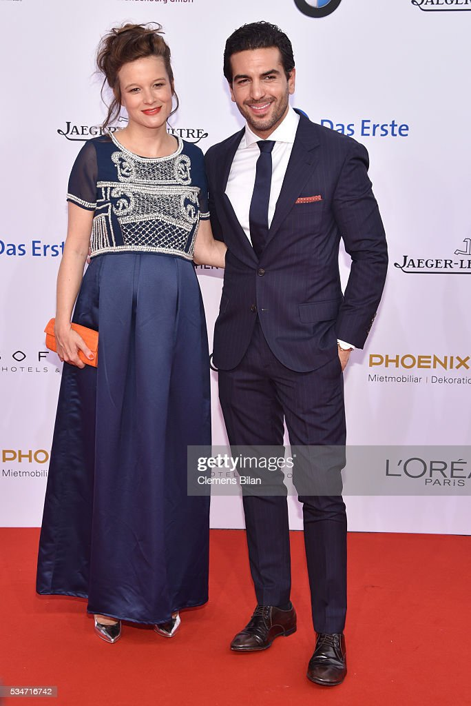 Lena Schoemann and <a gi-track='captionPersonalityLinkClicked' href=/galleries/search?phrase=Elyas+M%27Barek&family=editorial&specificpeople=3967406 ng-click='$event.stopPropagation()'>Elyas M'Barek</a> attend the Lola - German Film Award (Deutscher Filmpreis) on May 27, 2016 in Berlin, Germany.