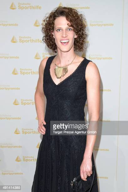 Lena Schoeneborn attends the awarding of the 'Goldene Sportpyramide 2014' at Hotel Adlon on May 16 2014 in Berlin Germany