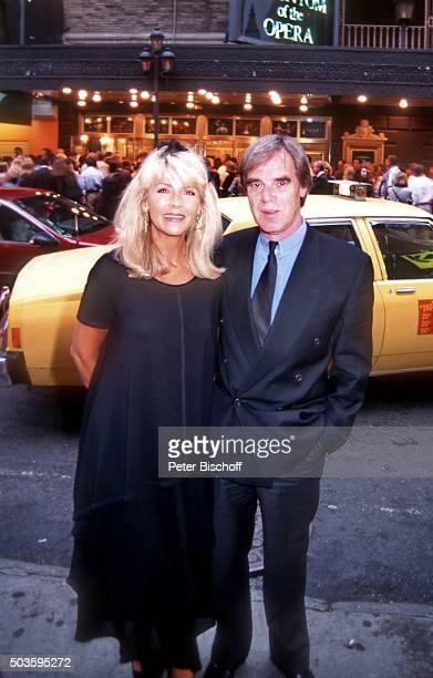 'Lena Valaitis Ehemann Horst Jüssen FamilienUrlaub am am Broadway in Manhattan New York USA '