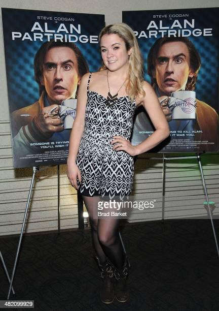 Lenay Dunn attends the 'Alan Partridge' New York screening at Landmark's Sunshine Cinema on April 2 2014 in New York City