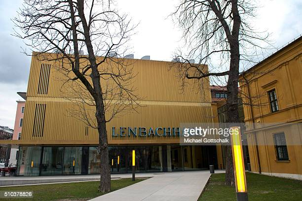Lenbachhaus municipal art gallery of munich on February 15 2016 in Munich Germany