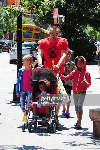Leni Samuel Lou Samuel Martin Kristen and Henry Samuel are seen on June 19 2013 in New York City