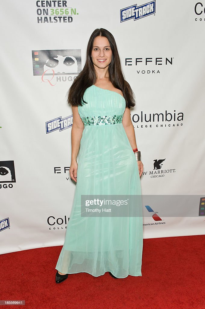 Leni Speidel attends the Q Hugo Film awards at The Center on Halsted on October 21, 2013 in Chicago, Illinois.