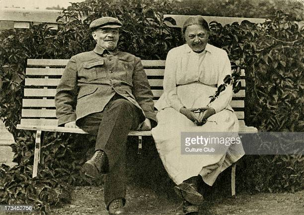 Lenin and Nadezhda Krupskaya Krupskaya married Lenin in 1898 and was active in Bolshevik circles up to the October Revolution of 1917 She later...