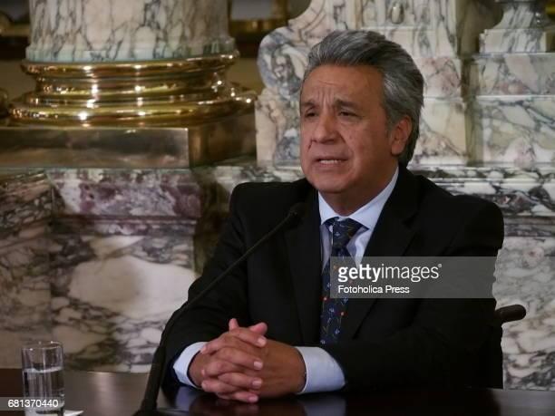 Lenin Moreno Ecuador's presidentelect on a visit to Peru