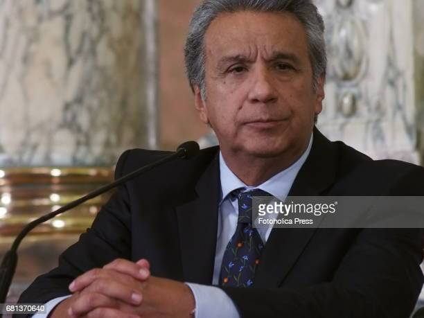 Lenin Moreno Ecuador's presidentelect on a visit to Peru