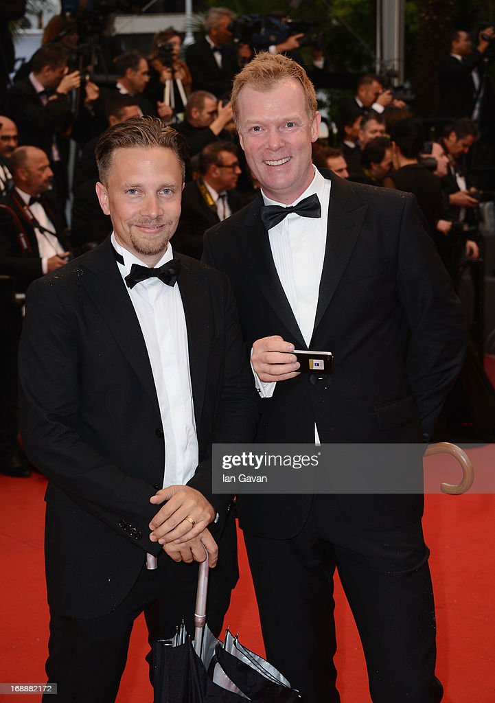Lennart Soderberg and Mats Jamterud attend Electrolux at Opening Night of The 66th Annual Cannes Film Festival at the Theatre Lumiere on May 15, 2013 in Cannes, France.