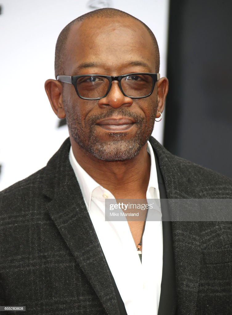 Lennie James attends the THREE Empire awards at The Roundhouse on March 19, 2017 in London, England.