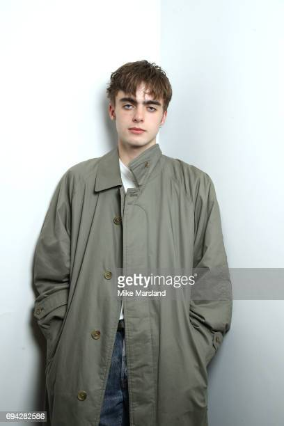 Lennon Gallagher attends London Fashion Week Men's June 2017 collections on June 9 2017 in London England
