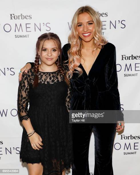 Lennon Maisy attend the 2017 Forbes Women's Summit at Spring Studios on June 13 2017 in New York City