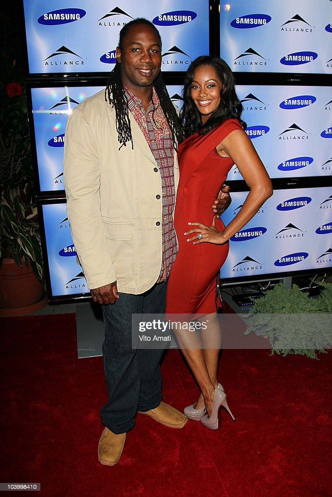Lennox and Violet Lewis attend the The Alliance Party during the 2010 Toronto Film Festival at South of Temperance on September 11, 2010 in Toronto, Canada.