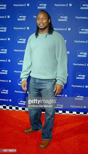 Lennox Lewis during Sony Playstation 2 Teams with Russell Simmons and the HipHop Summit Action Network to 'Race to the Polls' Arrivals at Hammerstein...