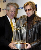 Lenny Clarke and Denis Leary during Sports Illustrated Sportsman of the Year Party Honoring The Boston Red Sox at Avalon in Boston Massachusetts...