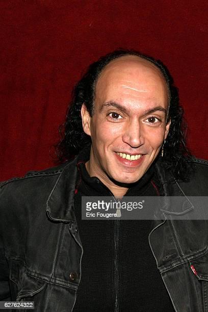 Lenny Escudero attends Bruno Salamone's latest stage show