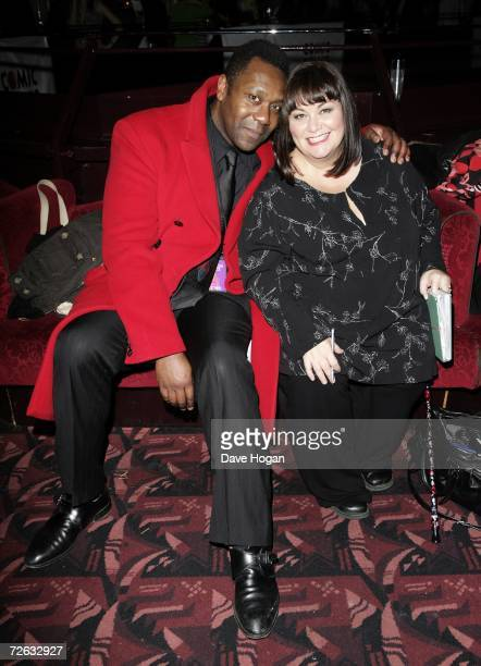 Lenny Henry and his wife Dawn French attend the afterparty following the 'Little Britain's Big Night' charity gala performance in aid of Comic Relief...