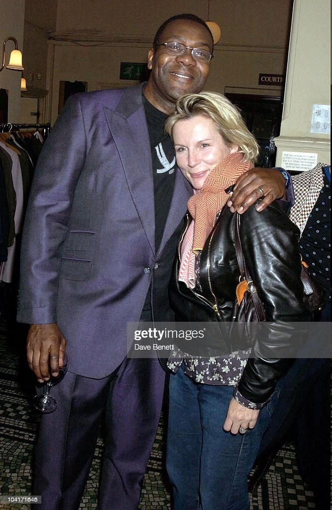 Lenny Henry And Jennifer Saunders, After Party For Lenny Henry S First Night, At Browns In St Martins Lane, London