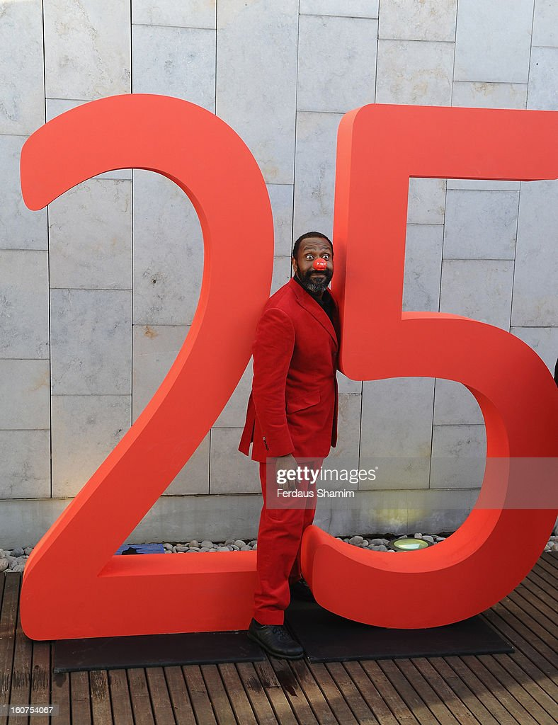 <a gi-track='captionPersonalityLinkClicked' href=/galleries/search?phrase=Lenny+Henry&family=editorial&specificpeople=159521 ng-click='$event.stopPropagation()'>Lenny Henry</a> attends a photocall to celebrate 25 yeas of Red Nose Day for Comic Relief at Southbank Centre on February 5, 2013 in London, England.