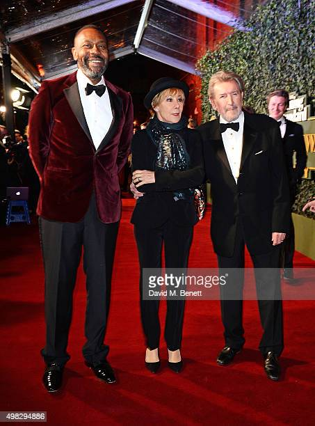 Lenny Henry Zoe Wanamaker and Gawn Grainger arrive at The London Evening Standard Theatre Awards in partnership with The Ivy at The Old Vic Theatre...