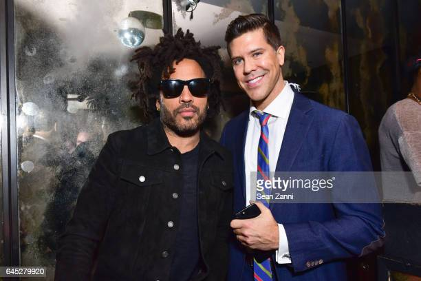 Lenny Kravitz and Fredrik Eklund attend 75 Kenmare Sales Launch VIP After Party Hosted by Fredrik Eklund and Lenny Kravitz at The Blond at 11 Howard...
